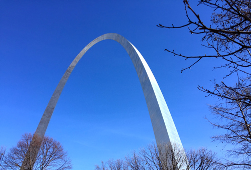 I loved my walk in St. Louis and the ARCH is blew my mind!