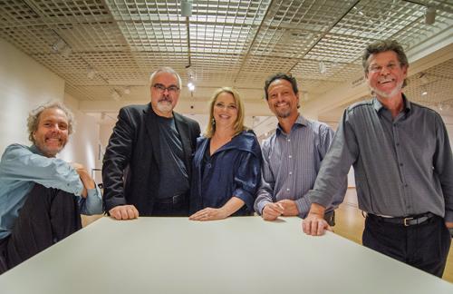 Camarada ensemble with Peter, Duncan, Beth, Fred, and Gunnar. photo by Rick Sokol.