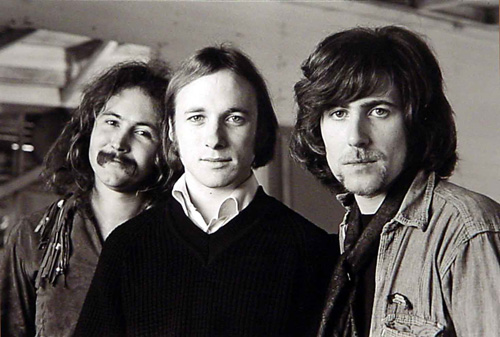 David Crosby, Steven Stills, and Graham Nash