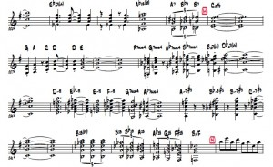Guitar part for the upcoming Sanctuary Suite concerts.