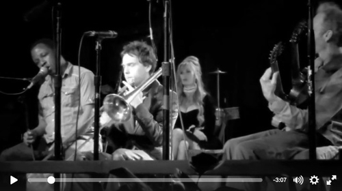 "We finish it off with a clip from our Belly Up gig a few weeks back. It's Leonard and I with a special trombone appearance from Paul Nowell. The tune is ""Do You Know What it Means to Miss New Orleans?"" and it's a cool moment of music."