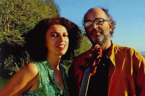 Paula and Jaques Morelenbaum