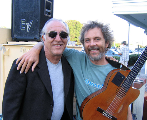 Joe and Peter at the Coyote Grill in Carlsbad a few years back.