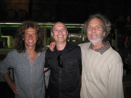 Pat Metheny, Alex, and Peter in Temecula.