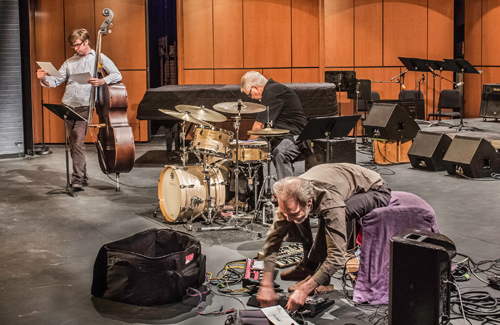 Men at Work at the Palomar Concert. Love this photo! Check out Mack! photo by Niko Harrison Holt