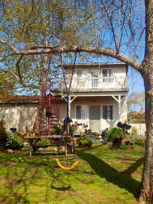 A pretty inviting sonic laboratory to bend reality if you ask me! SpragueLand in the Springtime. photo by Steve Grant