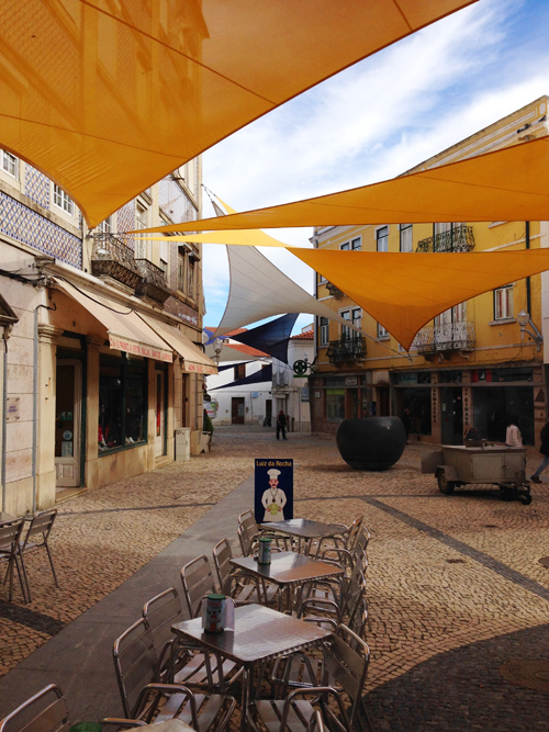 From the Canaries we went to Beja, Portugal. I loved this little town square with the sails above to provide shade.