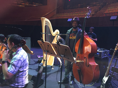 Disney Hall with Ben Williams on bass.