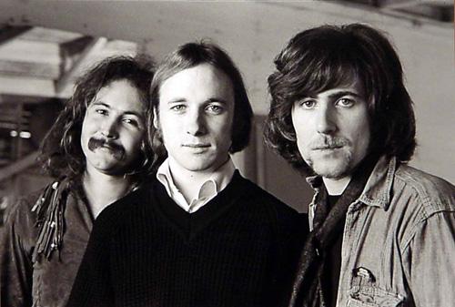 David Crosby, Steven Stills, and Graham Nash