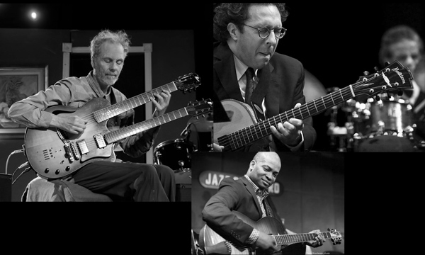 Jazz guitar night with PS, Anthony Wilson, and Russell Malone.