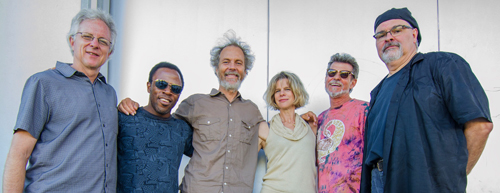 Happy Players of the Bossa Nova Empire! From left to right, Tripp, Leonard, Peter, Kevyn, Gunnar, and Duncan. photo by Rick Sokol
