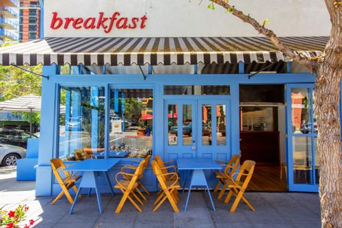 Harbor Breakfast in Little Italy.