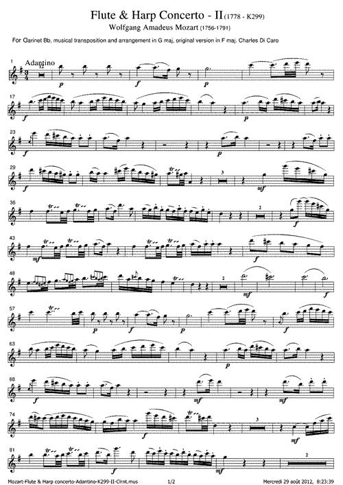 MozartSheetMusic