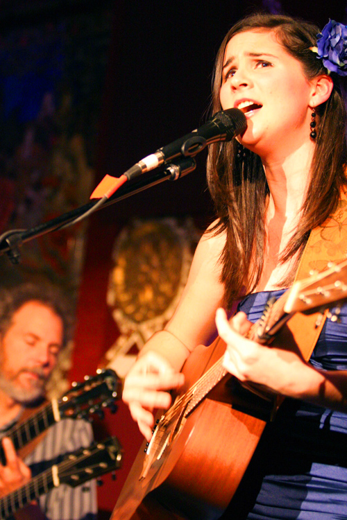 Nina Francis and I a few years back playing a show at Tango del Rey.