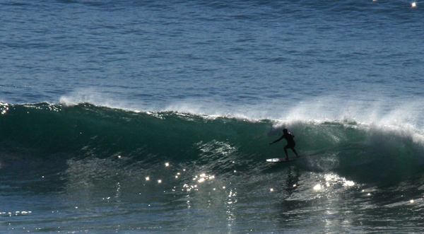 PS gliding in the blue last week at Beacons in Encinitas. photo by Jeff Rose