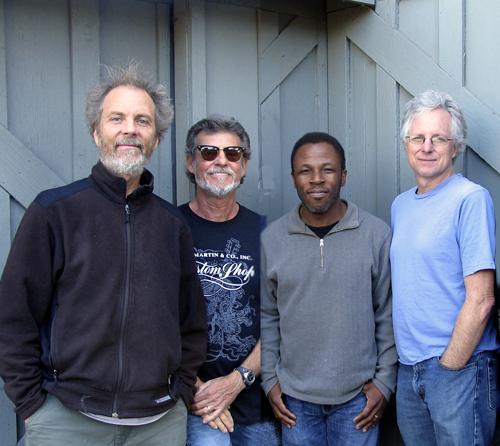 Quartet music with Peter, Gunnar, Leonard, and Tripp.