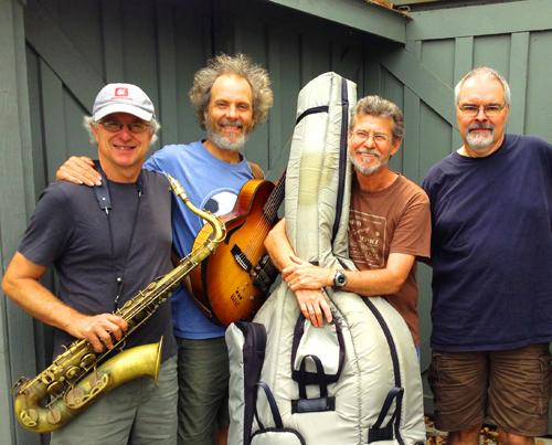 Quartet music with Tripp, Peter, Gunnar, and Duncan